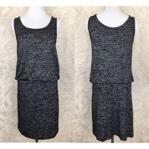Philosophy gray sleeveless midi dress size S